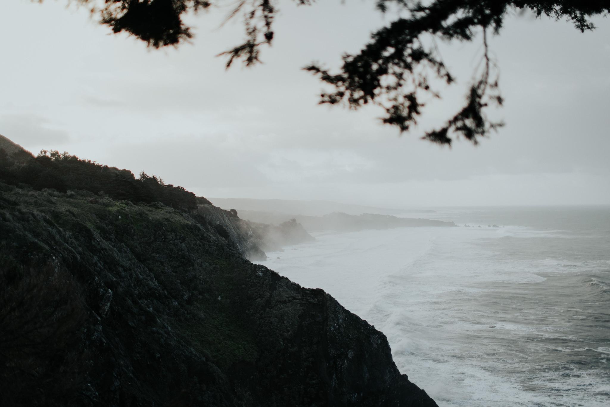 big sur coast at sunrise ragged point inn cliffs at dawn